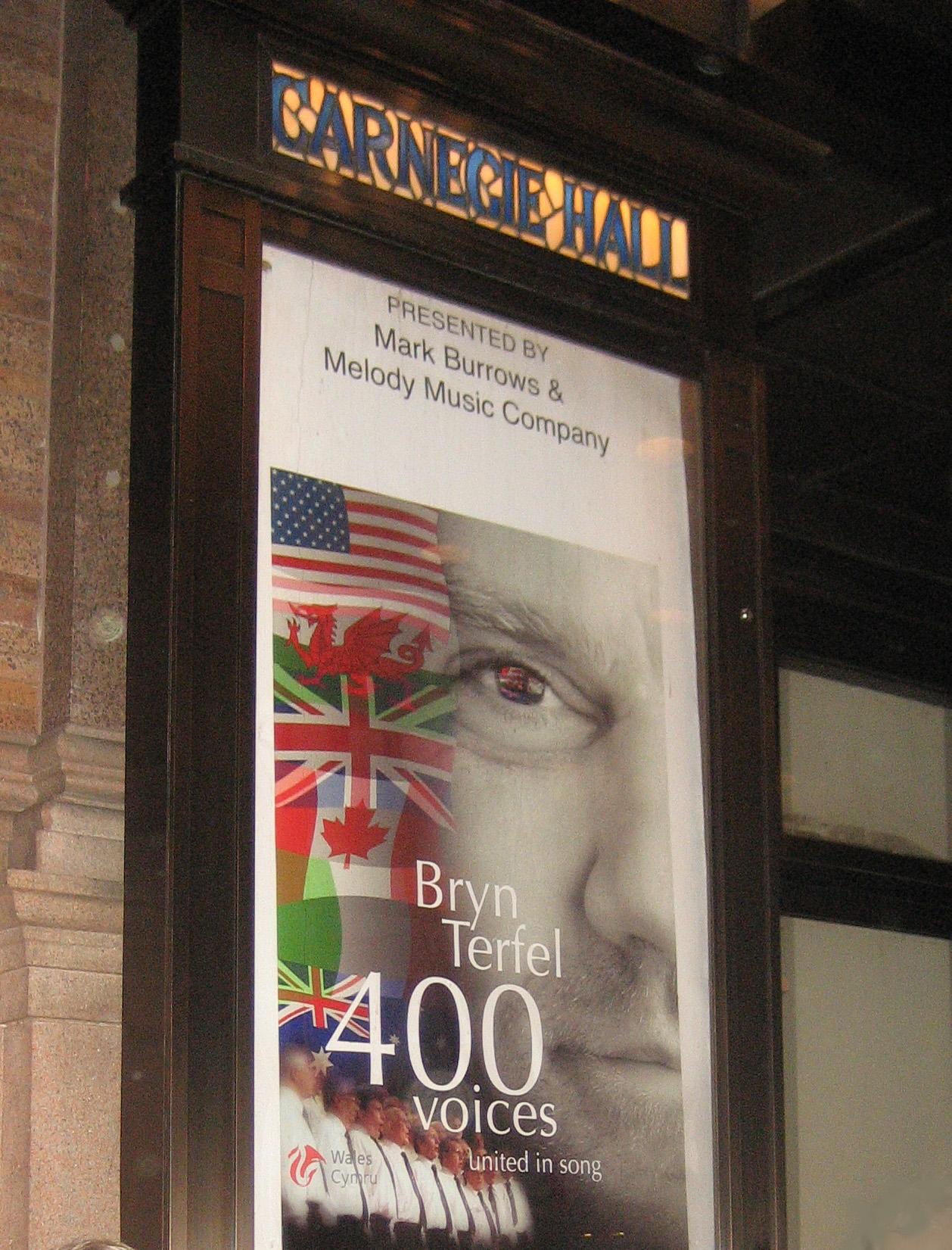 Carnegie Hall New York