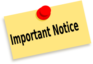 Image result for notices