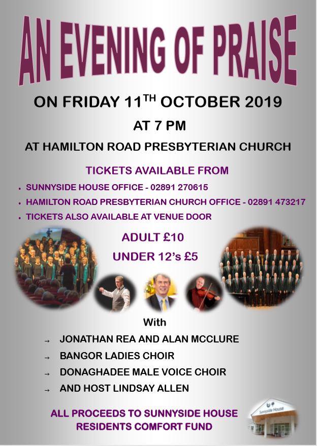 Concert @ Hamilton Road Presbyterian Church   Northern Ireland   United Kingdom